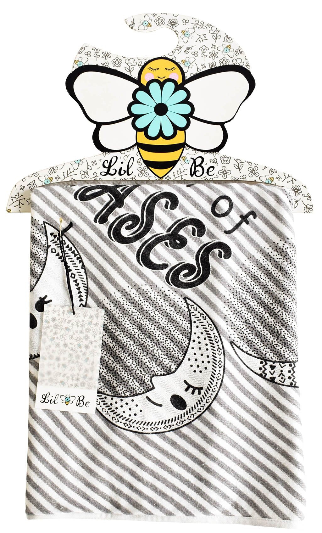Lil Be Hooded Towel- Le Bebe Chic Boutique