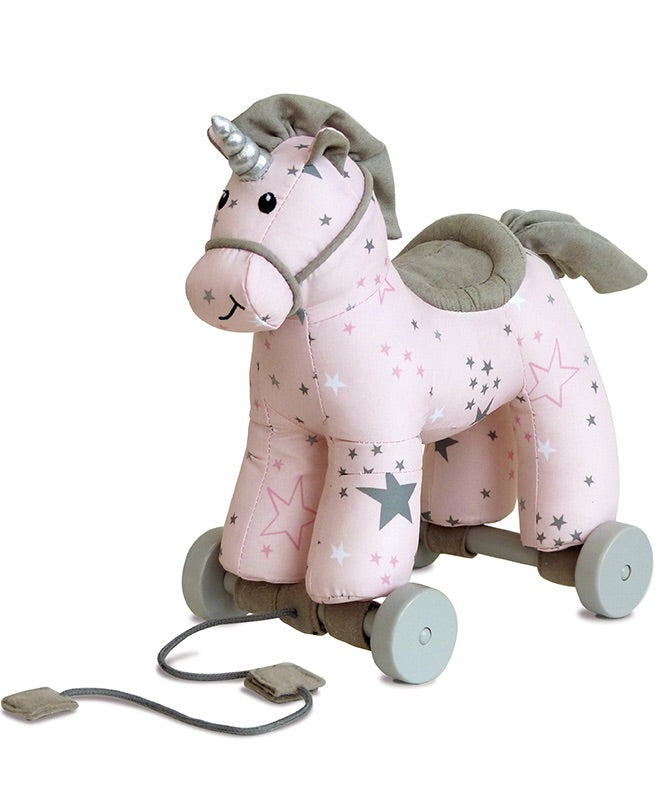 Celeste Unicorn Pull Along - Le Bébé Chic Boutique
