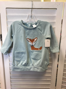Deer Long Sleeve 6 m - Le Bébé Chic Boutique