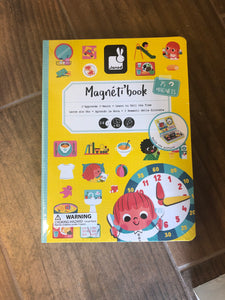 Magneti' Book Learn to Tell Time - Le Bébé Chic Boutique