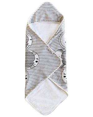 Moon Phases Hooded Towel - Le Bébé Chic Boutique