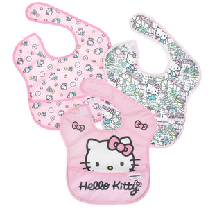 SuperBib 3 Pack - Hello Kitty - Le Bébé Chic Boutique