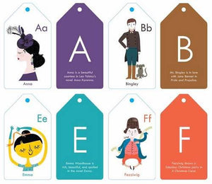 BabyLit® ABC Stroller Flash Cards - Le Bébé Chic Boutique