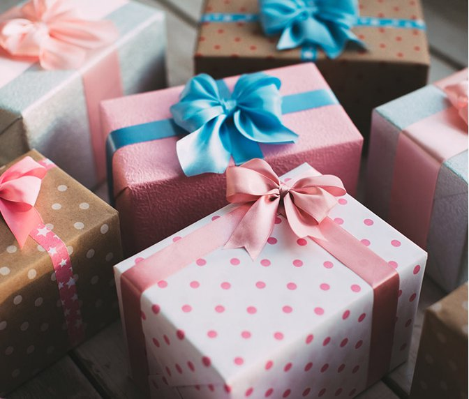 Package- Perfect Surprise! (Gender Neutral Wrapping Paper) - Le Bébé Chic Boutique