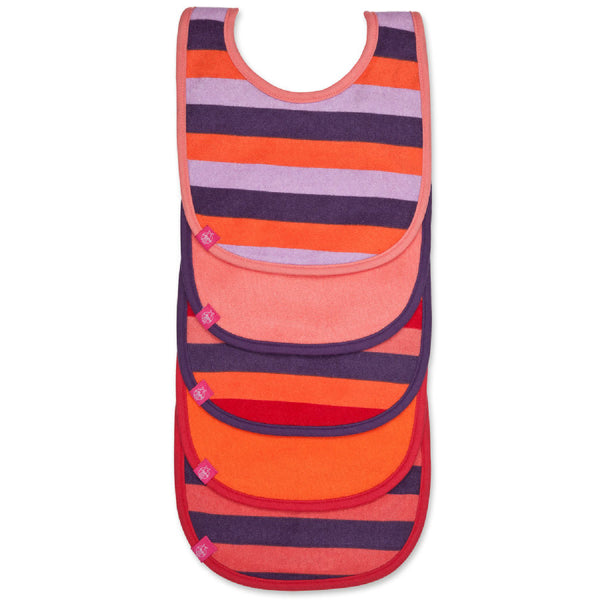 Bib Value Pack Multi Stripe - Le Bébé Chic Boutique