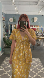 Cleo Dress in Honey