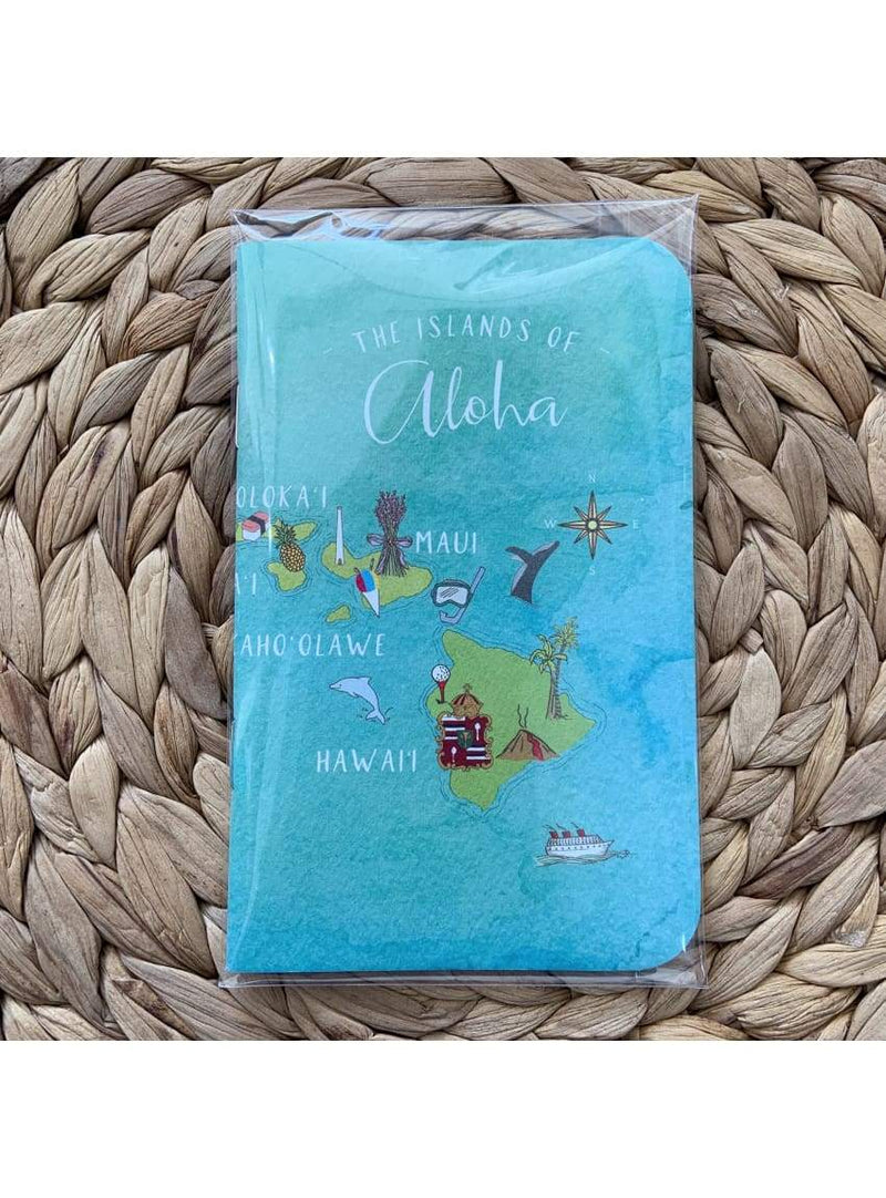 Aloha Maps Mini Notebook
