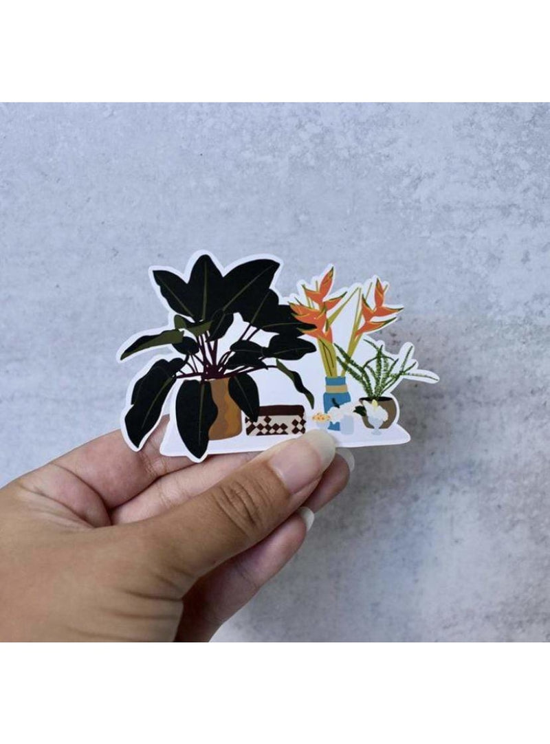 Cassi Essentials Gift Mom's Plants Gloss Sticker Valia Honolulu