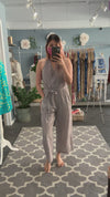Alice Striped Jumpsuit