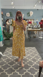 Indah Rose Maxi in Honey