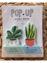 Girl of All Work Stationary HOUSE PLANT POP UP STICKY NOTE Valia Honolulu