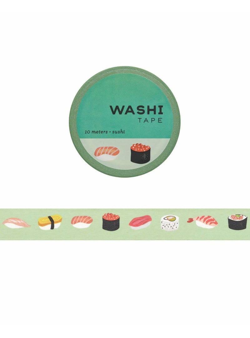 Girl of All Work Stationary Sushi Washi Tape Valia Honolulu