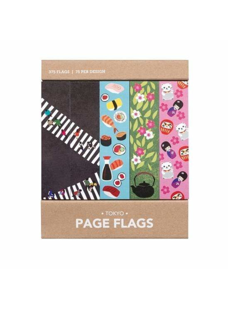 Girl of All Work Stationary Tokyo Page Flags Valia Honolulu