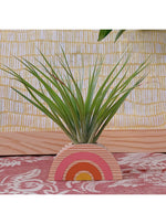Goodsmith Home Rainbow Air Plant Holder in Yellow/Orange Valia Honolulu