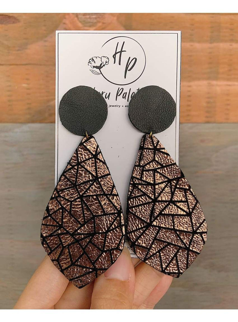 Stellar Teardrop Earrings