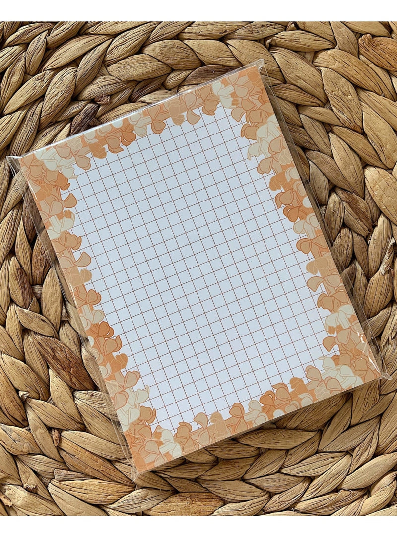 Kakou Collective Stationary Puakenikeni Grid Notepad Valia Honolulu