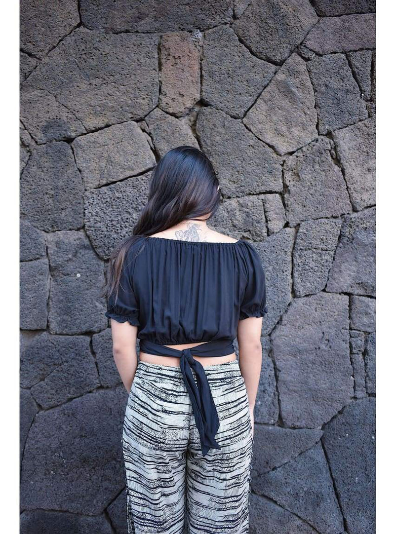 Kauana Top in Black