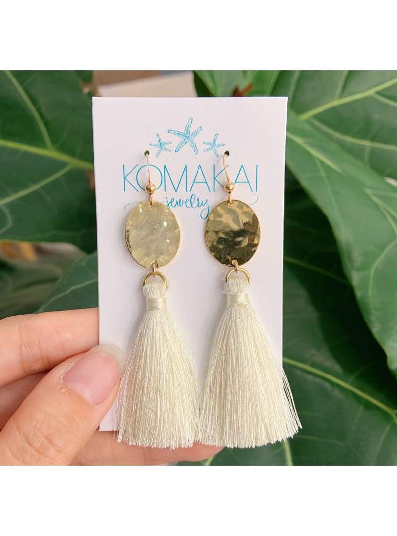 Tassel & Brass Earrings