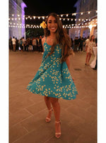 Noelani Dress in Teal