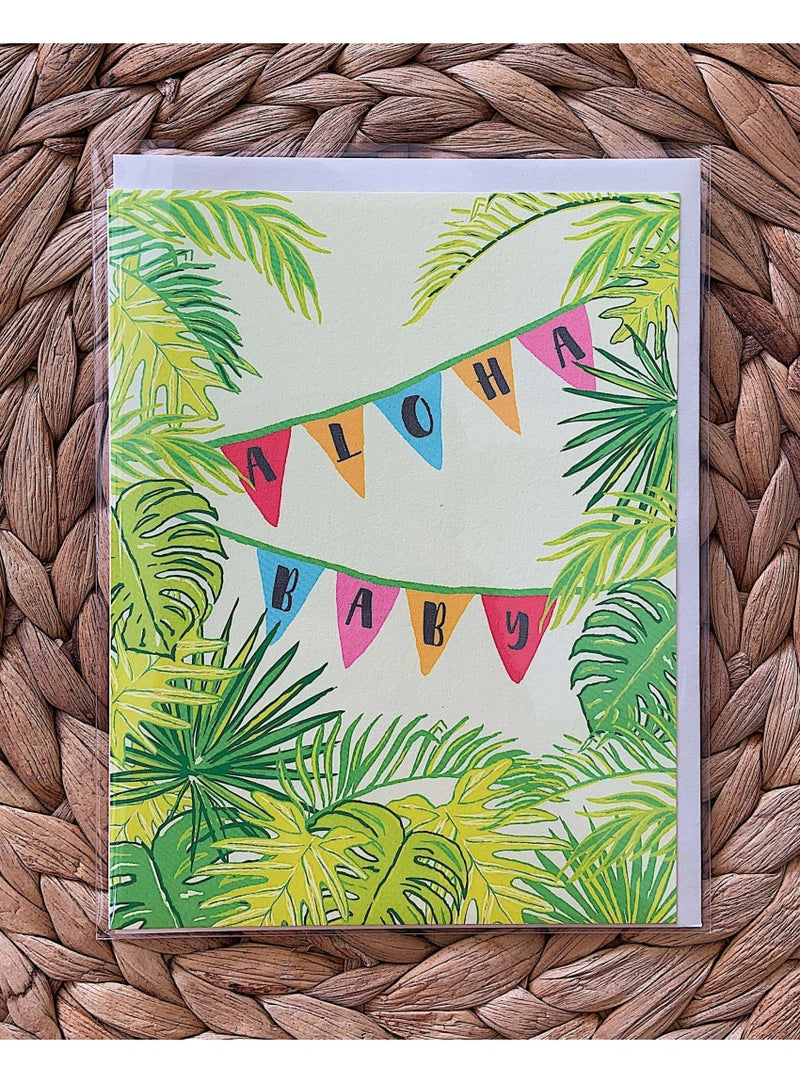 Nico Made Gift Aloha Baby Card Valia Honolulu