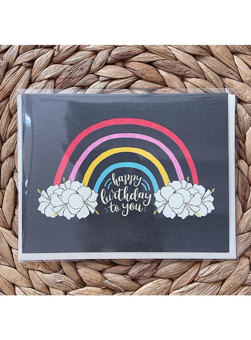 Nico Made Gift Birthday Rainbow Card Valia Honolulu