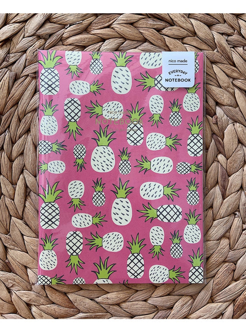 Nico Made Gift Pineapples Notebook Valia Honolulu