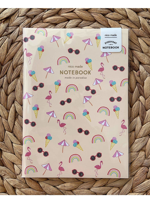 Nico Made Gift Summer Days Notebook Valia Honolulu