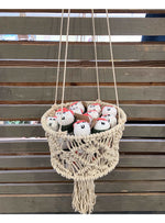Soul of the Party Home Macrame Basket Valia Honolulu