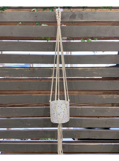 Soul of the Party Home Macrame Plant Hanger Valia Honolulu