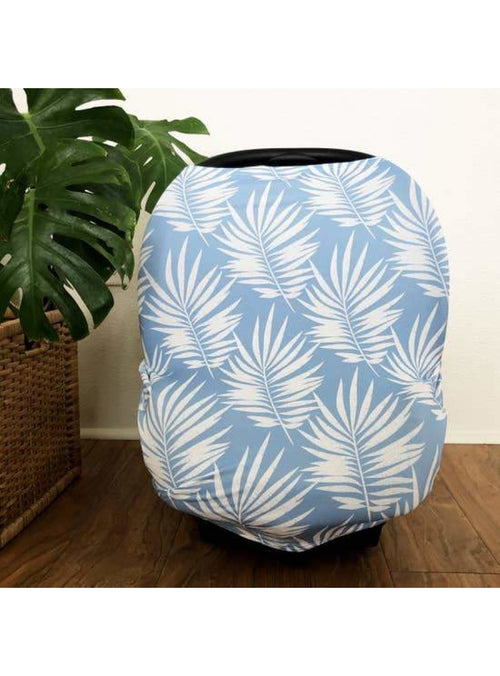 Sweet Sweet Honey Keiki Multi-Purpose Cover in Blue Palm Valia Honolulu