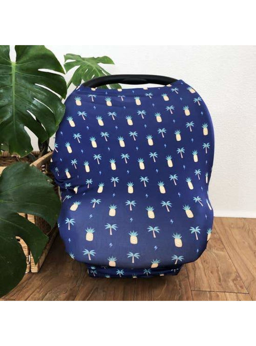 Sweet Sweet Honey Keiki Multi-Purpose Cover in Westside Navy Valia Honolulu