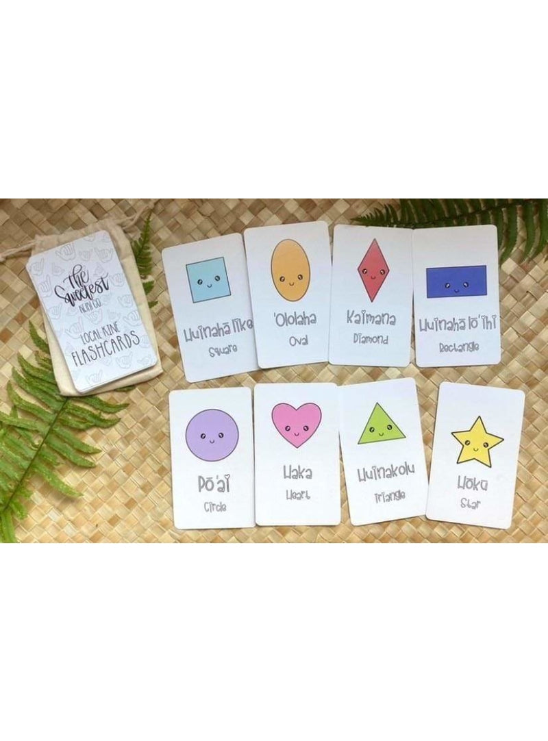 The Sweetest Keiki Co Keiki Local Kine Flash Cards Valia Honolulu