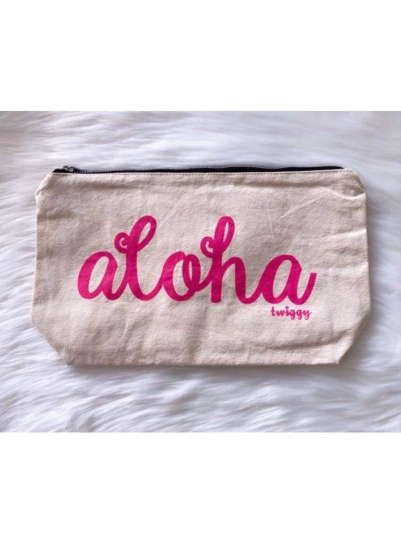 Aloha Pouch in Pink