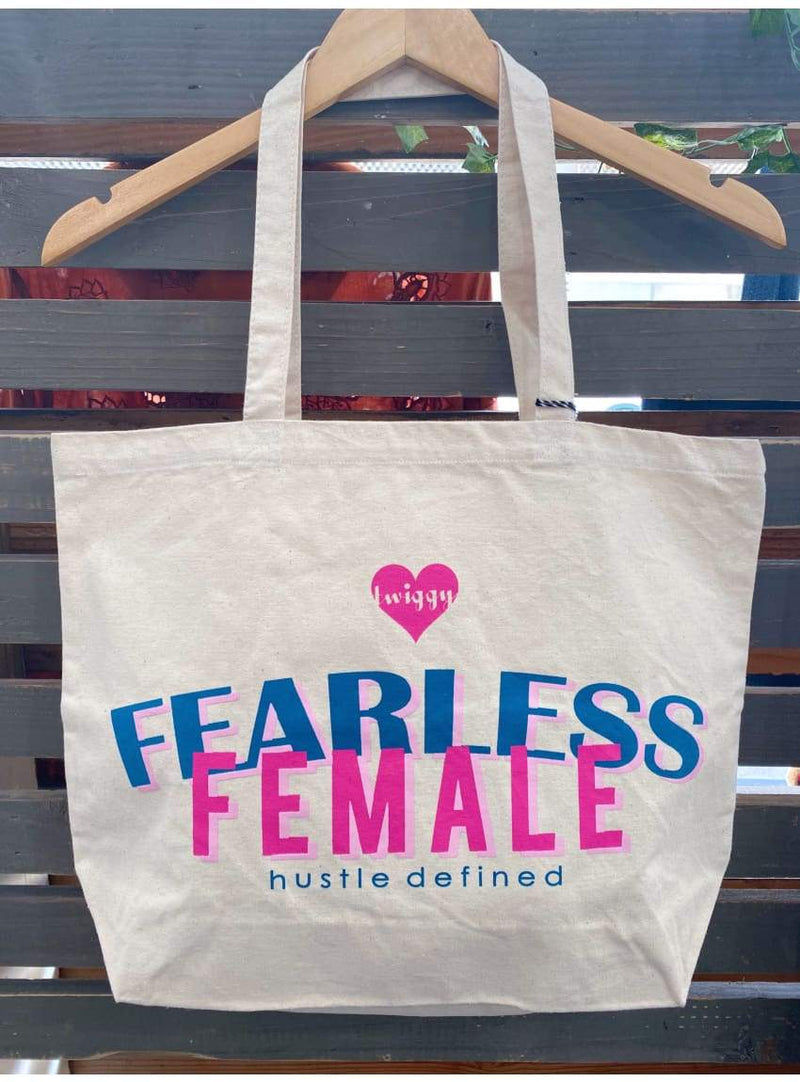 Fearless Female Canvas Tote