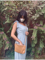Umbrella Collective Handbag UC + OGC + Valia Collab Crossbody in Camel Valia Honolulu