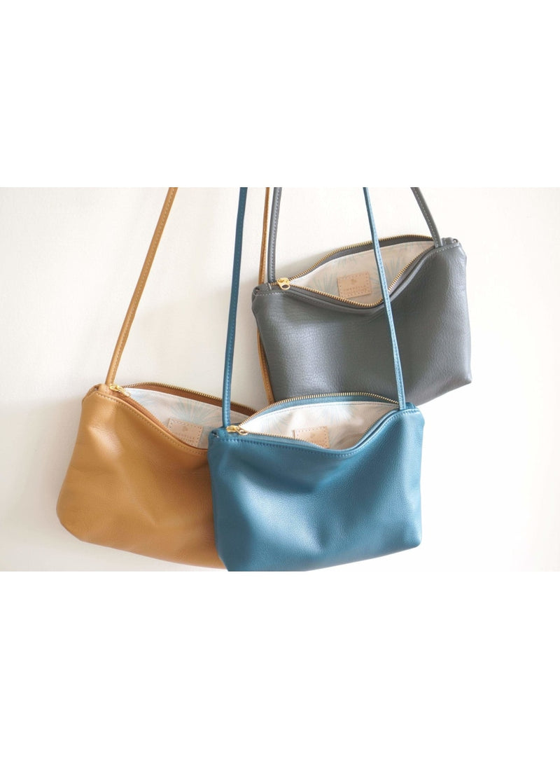 Umbrella Collective Handbag UC + OGC + Valia Collab Crossbody in Teal Valia Honolulu