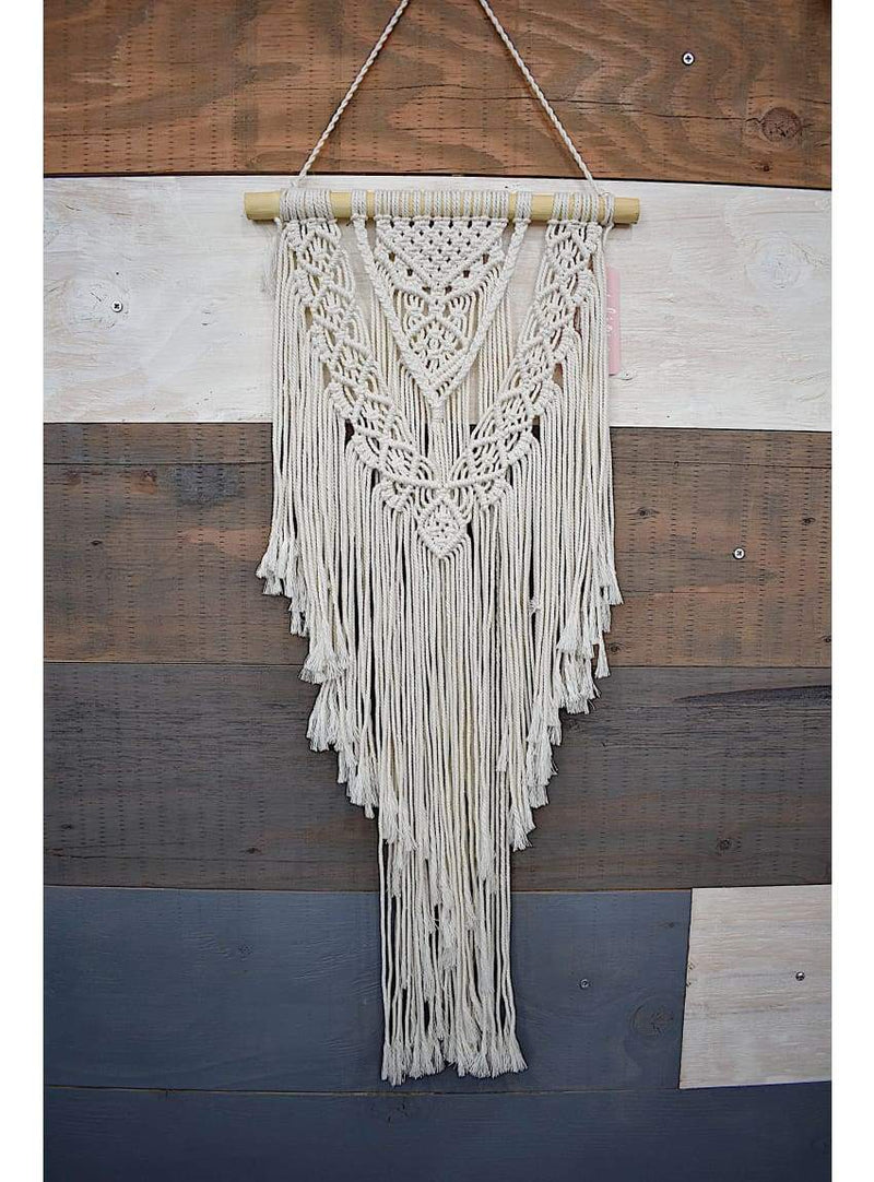 Macrame Wall Hanging - Small Dowel