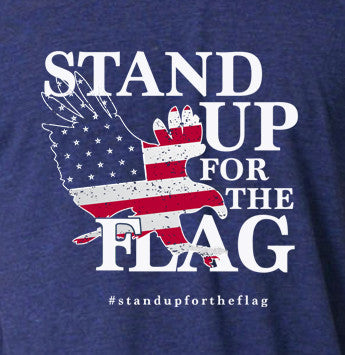 Official Stand Up For The Flag Apparel T-Shirt Tees