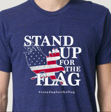 Official Stand Up For The Flag Unisex Vintage Tee