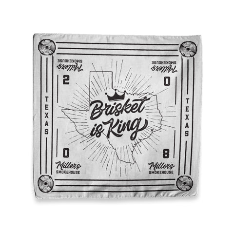 """Brisket is King"" Bandana"