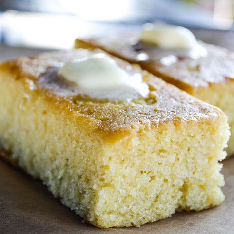 Homemade Cornbread - 12 Large Servings