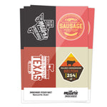 Smokehouse Sticker Sheet