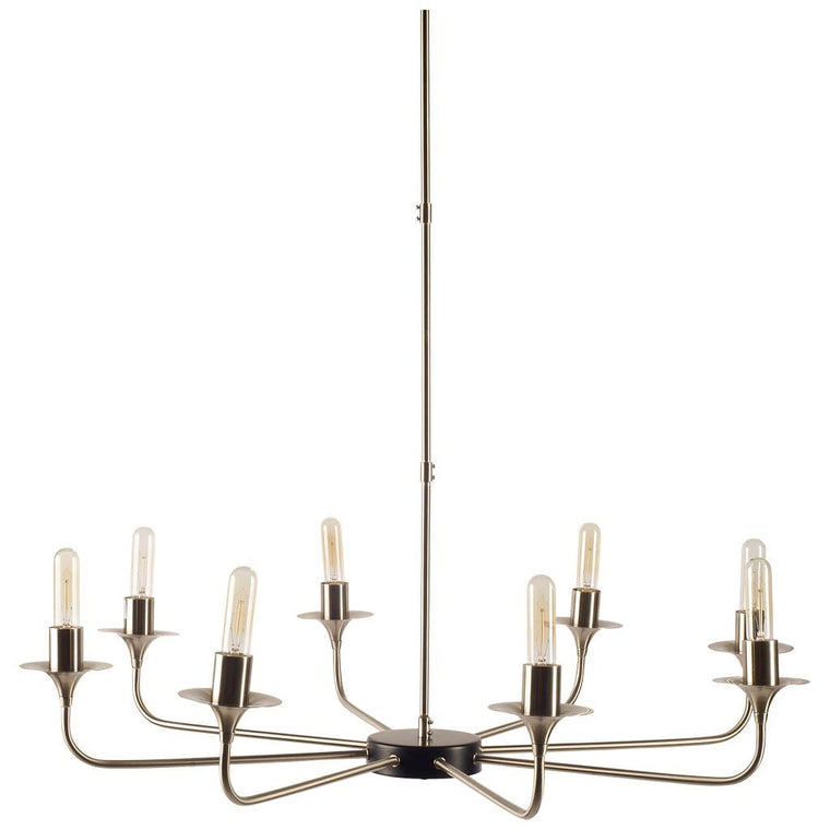 Adison Chandelier Silver Stainless