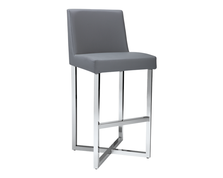 CHARLIZE BARSTOOL GREY SET OF 2