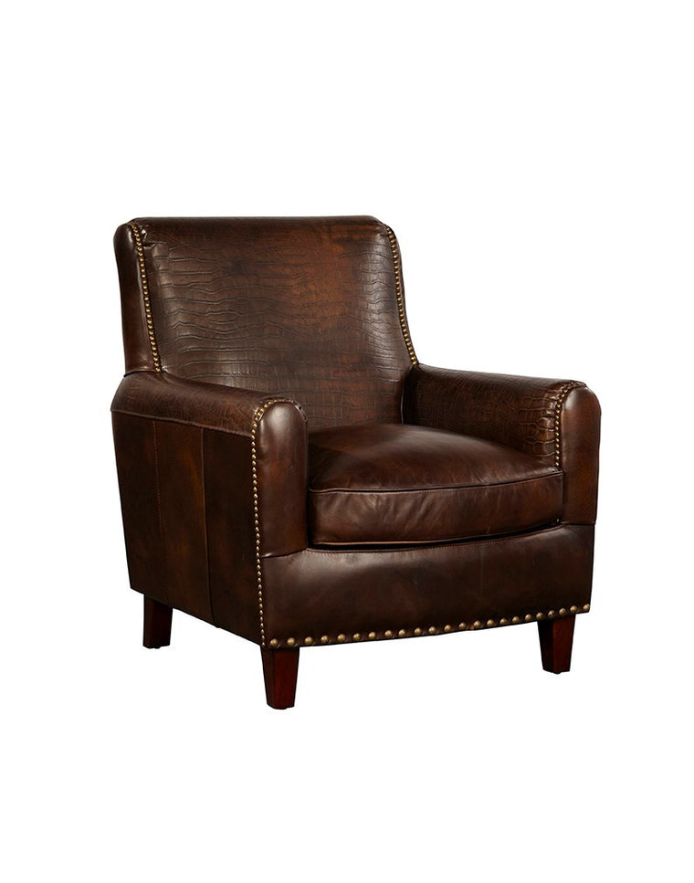 Trista Leather Arm Chair