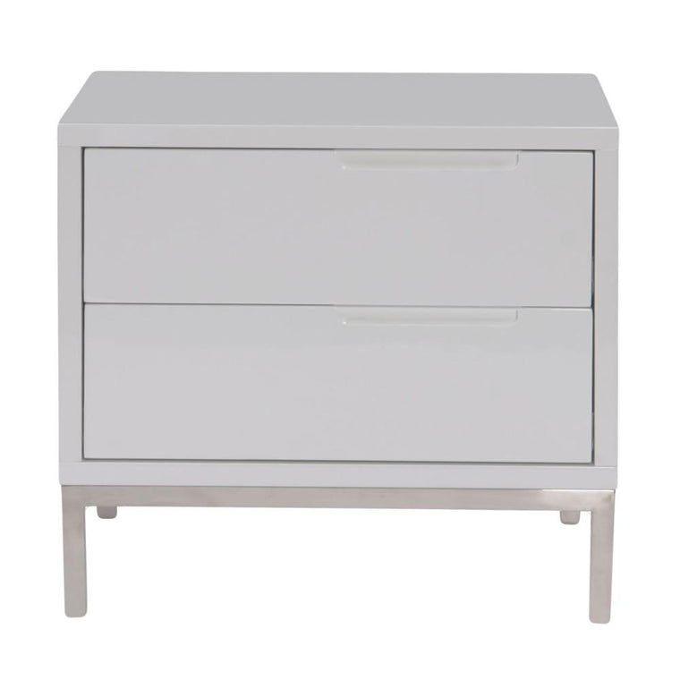 Maeva Side Table White