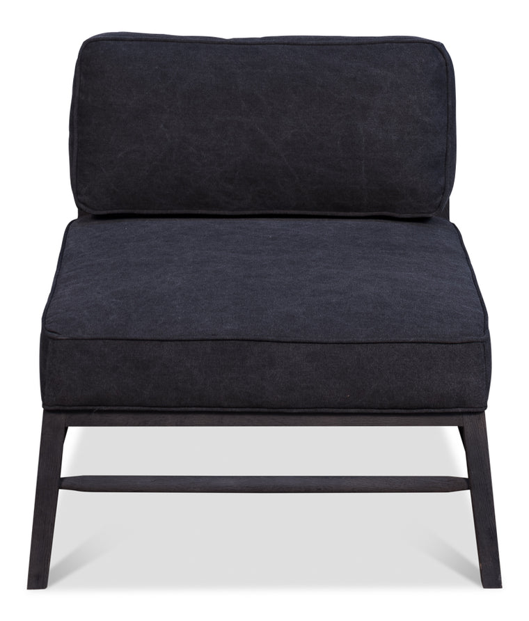 Uranie Midcentury Chair Black Contemporary