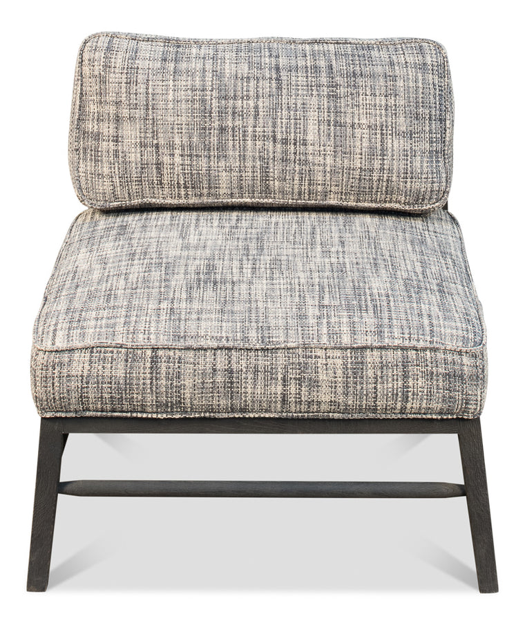 Uranie Midcentury Chair Grey Contemporary