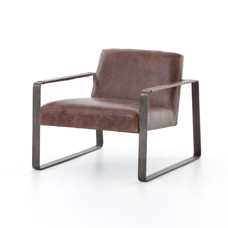 Brick Chair Havana Waxed Black