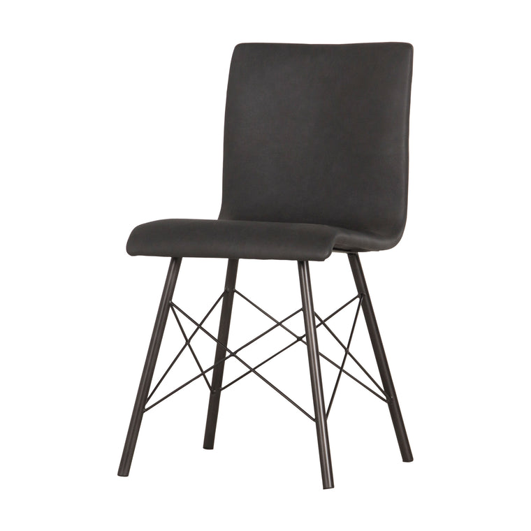 DIALLA DINING CHAIR, ASH BLACK